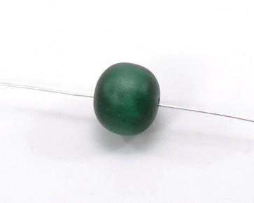 Harzperlen im Stil von Polaris Perlen, rund, dunkelgrün, 18 mm, 5 Perlen
