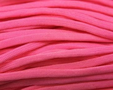 Paracord Kordel, 4mm, uni pink, 10m