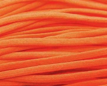 Paracord Kordel, 4mm, uni orange, 10m