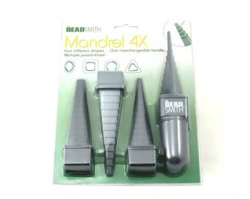 BeadSmith Mandrel 4X, Dornwerkzeuge 4 Formen, 1 Set