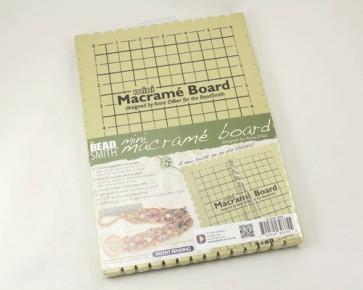 Beadsmith Makramee Brett, 26.5 x 19 cm, 1 Board