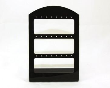 Schmuckständer Ohrring Display, schwarz, 15 x10 cm, 1 Ständer
