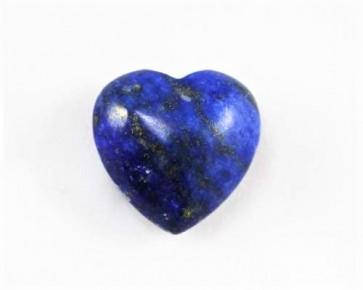 Lapis Lazuli Edelstein Herz, blau, 15mm, 1 Stk.