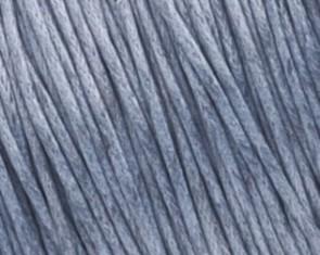 Gewachste Baumwollkordeln, Schmuckkordeln, Wachsbänder, 1 mm, dunkelgrau