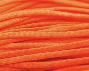 Paracord Kordel, 4mm, uni orange, 10m
