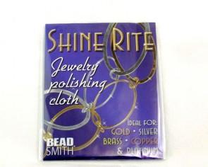 Schmuck- / Silber-Poliertuch, Shine-Rite, 20 x 13 cm, 1 Stk.