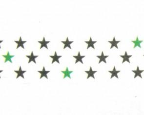 Washi-Tape Motiv-Klebeband mit Sternen, 15mm x 5m